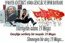 19 MAYIS ATATÜRK'Ü ANMA GENÇLİK VE SPOR BAYRAMI RESİMLERİ