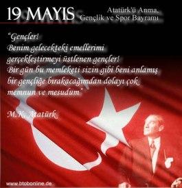19 Mayis Atatürkü Anma Gençlik Ve Spor Bayrami Resimleri Resim